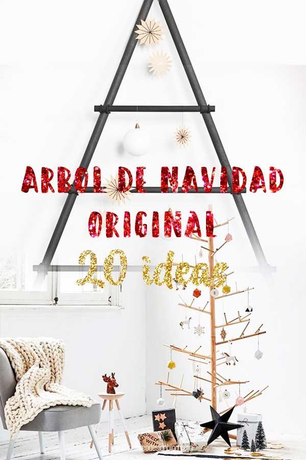 20 árboles de Navidad originales – DIY