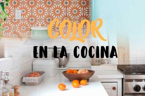 Cómo introducir color en la cocina
