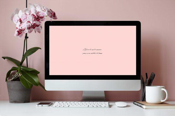 Fondo de pantalla ordenador con Frase Motivadora