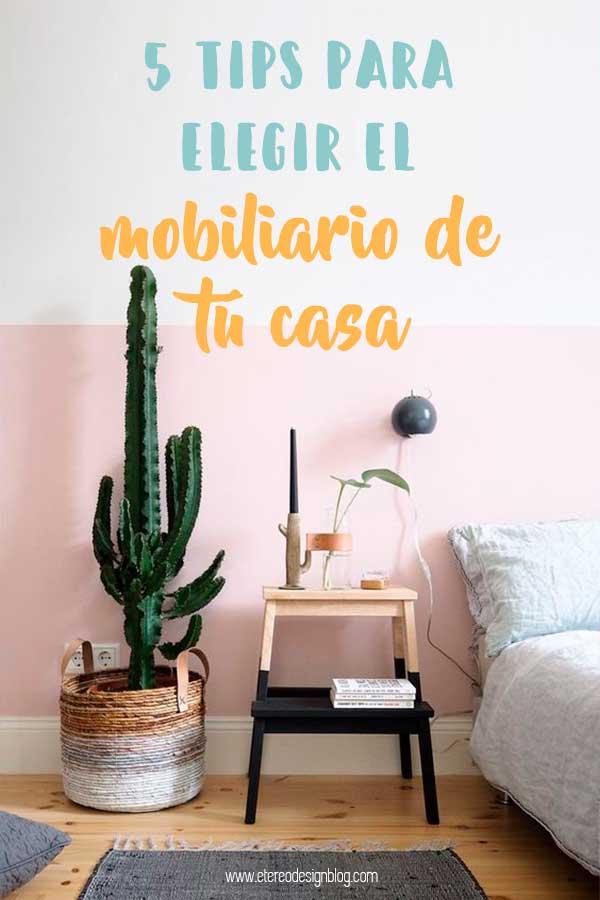tips decorar casa muebles vivienda consejos decoración