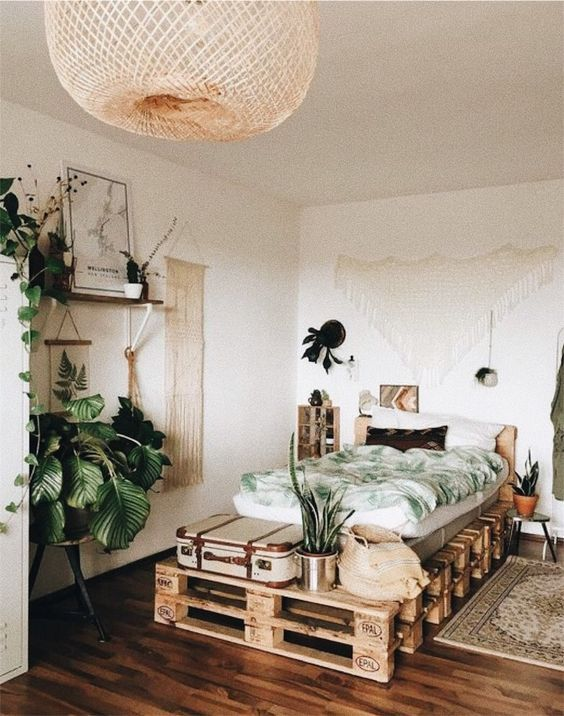 cama palets etnica