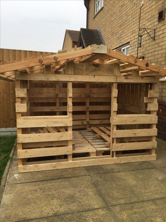 casa palets madera