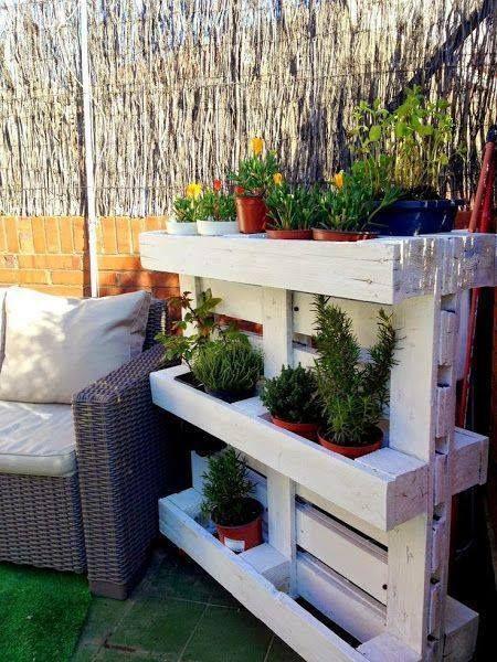 jardinea de palets