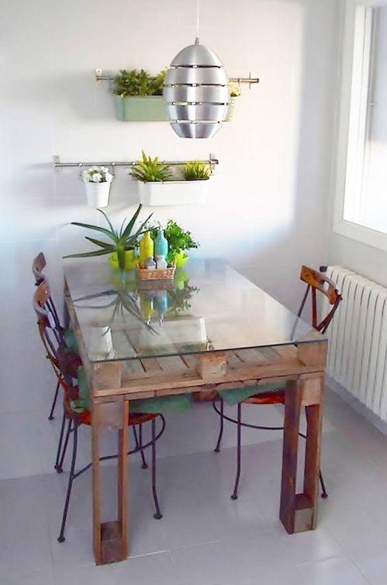 mesa comedor palets