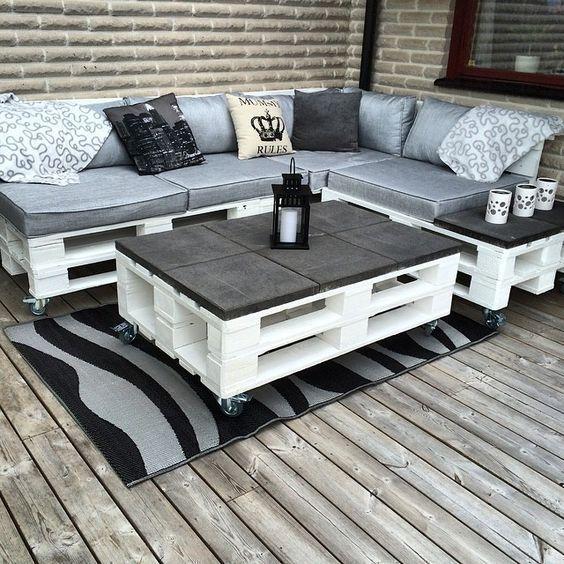 sofa terraza palets