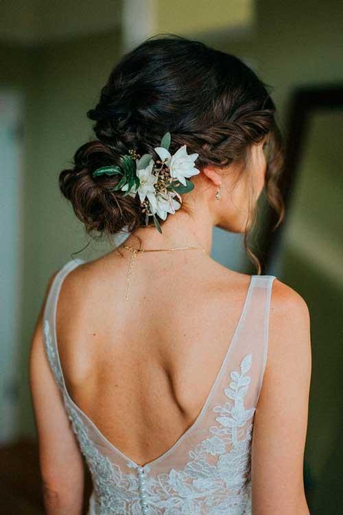 damas de honor flores olivo