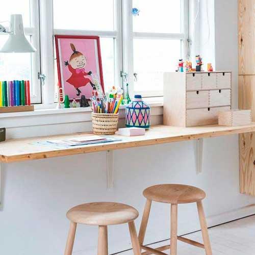 Cómo crear un escritorio infantil, ¡fácil y rápido!