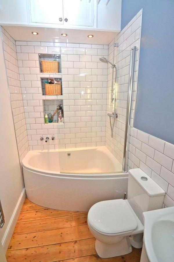 baño pequeño jacuzzi