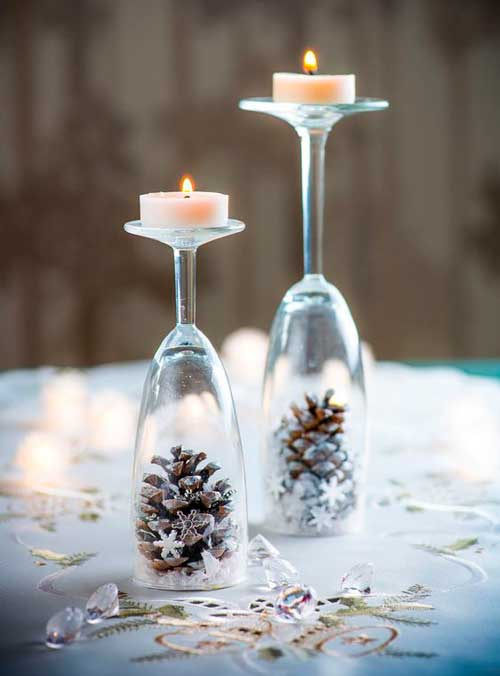 7 ideas de decoración con velas