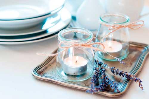 vela decorativa