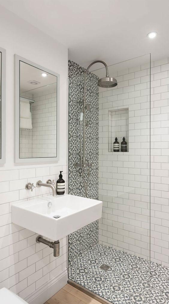 azulejos duchas